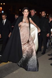 Demi Moore - Seen at the Harpers Bazaar fashion party in Paris