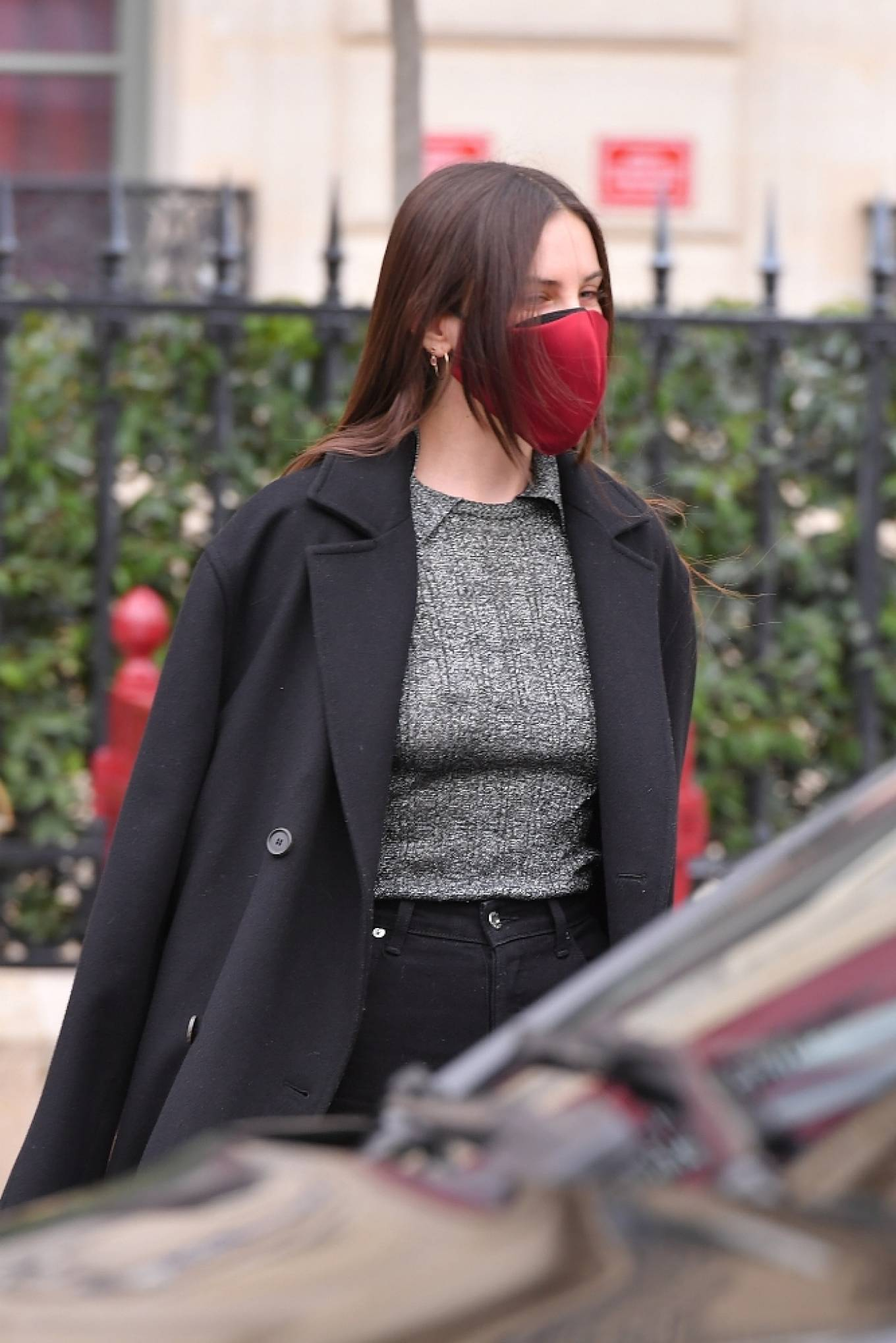 Demi Moore - With Tallulah Belle Willis out in Paris