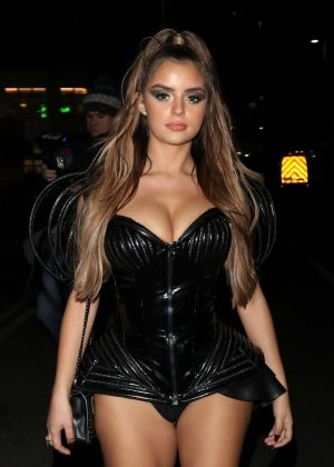 Demi Rose - 2018 KISS Haunted House Party in London