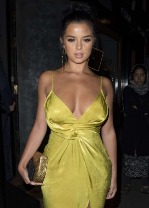 Demi Rose at Monkey House Bar in London