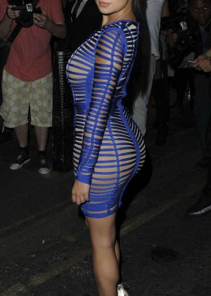 Demi Rose at Sixty6 Magazine Launch Party in London