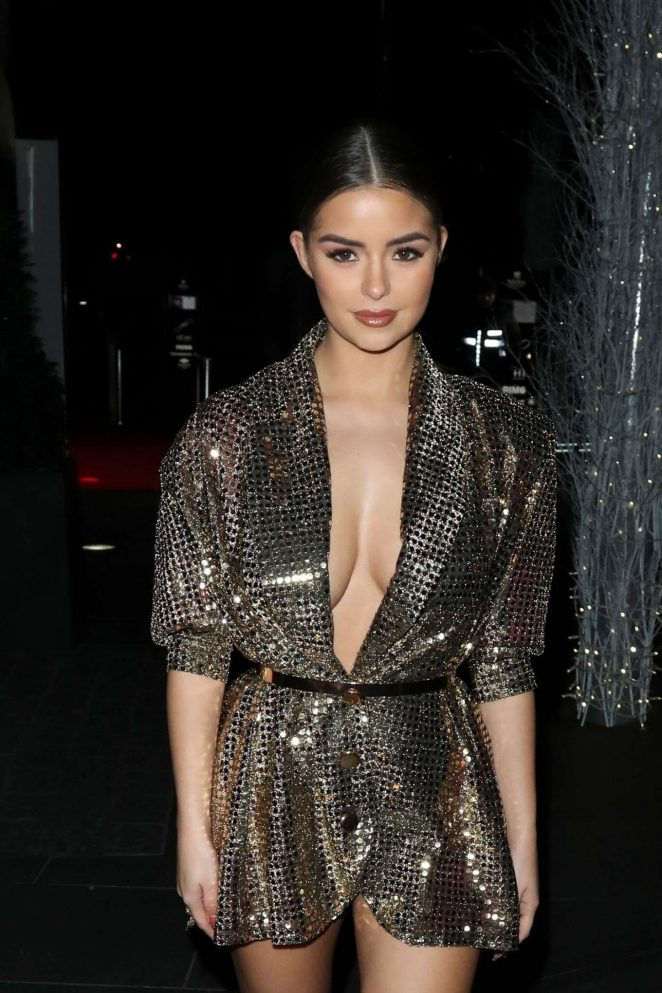 Demi Rose at The Beauty Awards with OK! 2018 in London