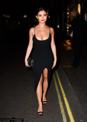 Demi Rose - Attend the Nasty Girl Launch in London