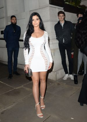 Demi Rose - Attending at Wonderland Magazine x MTV Party in London