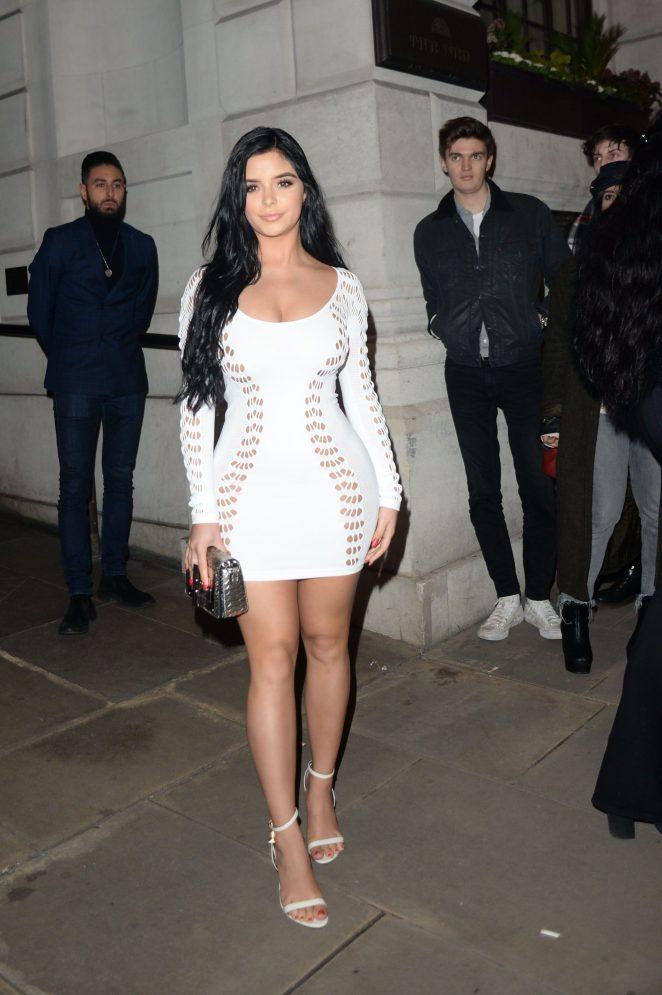 Demi Rose – Attending at Wonderland Magazine x MTV Party in London