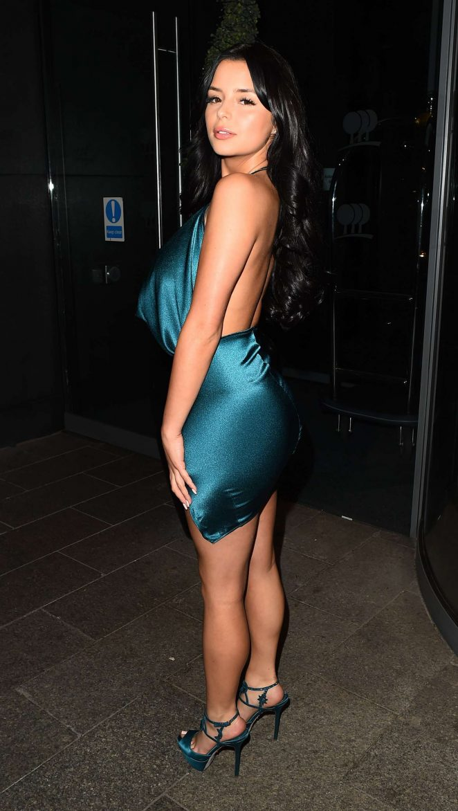 Demi Rose Celebrates her Birthday in London
