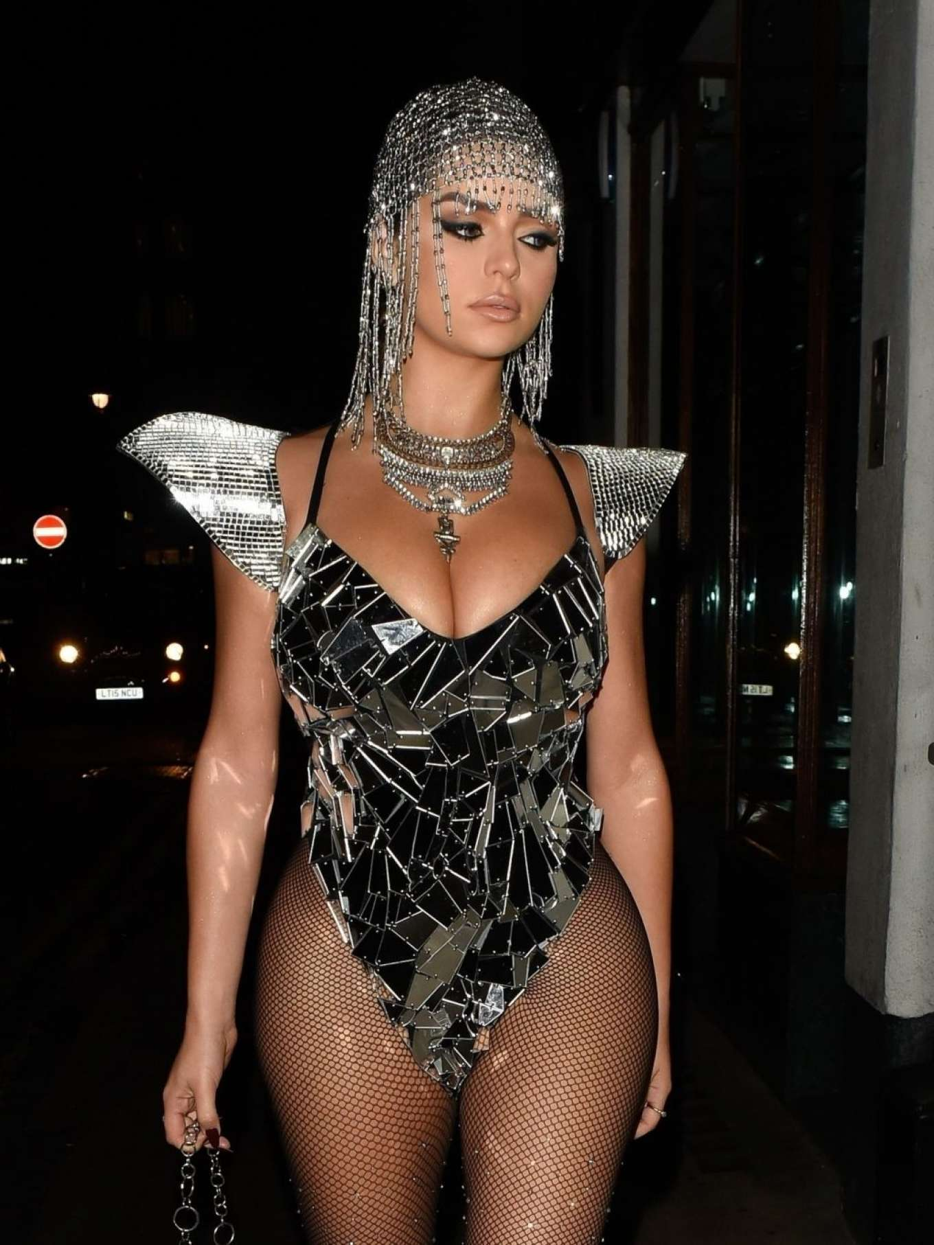 Demi Rose 2019 : Demi Rose – Heading to Halloween Party in Mayfair-01