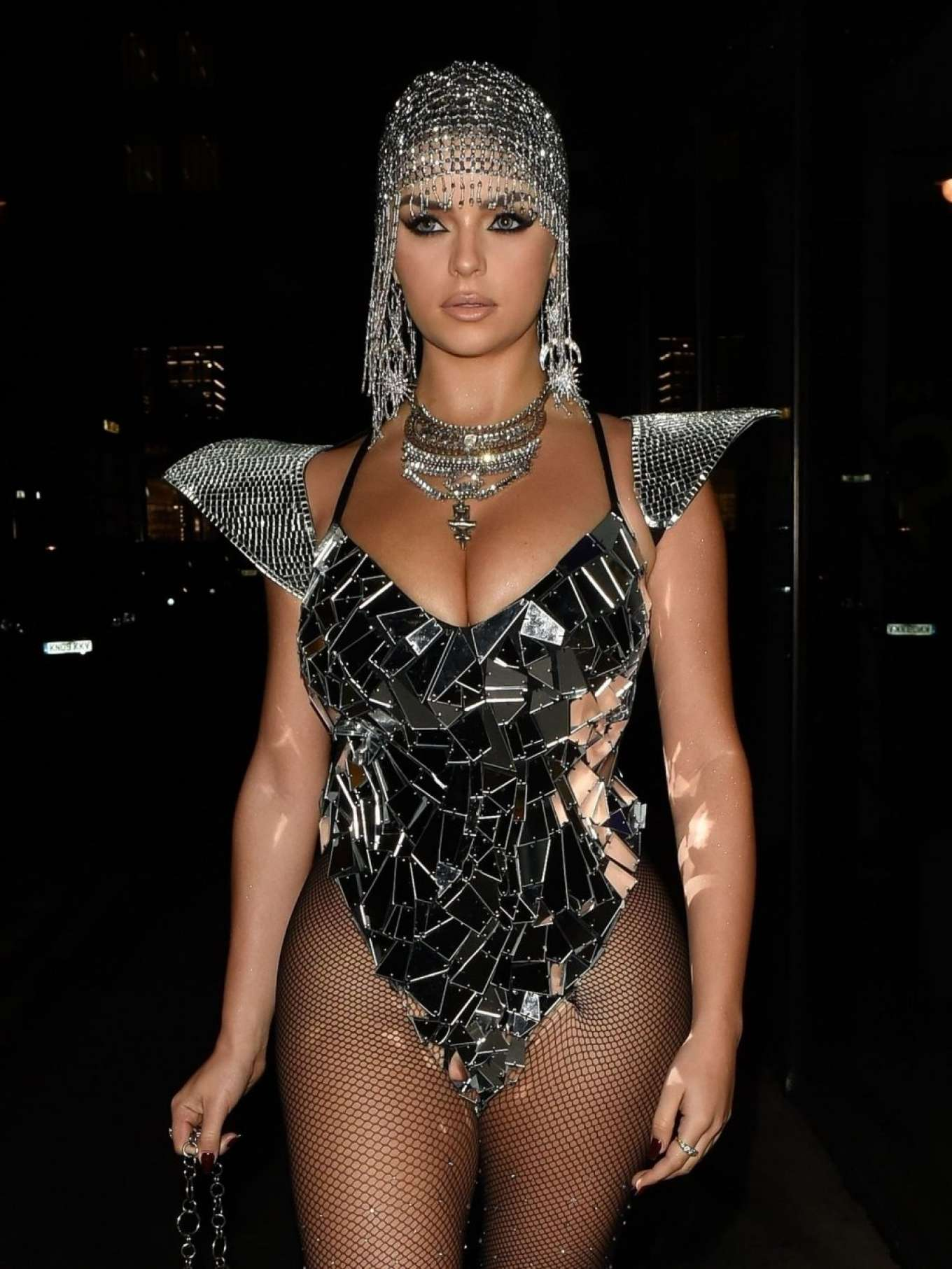 Demi Rose 2019 : Demi Rose – Heading to Halloween Party in Mayfair-02