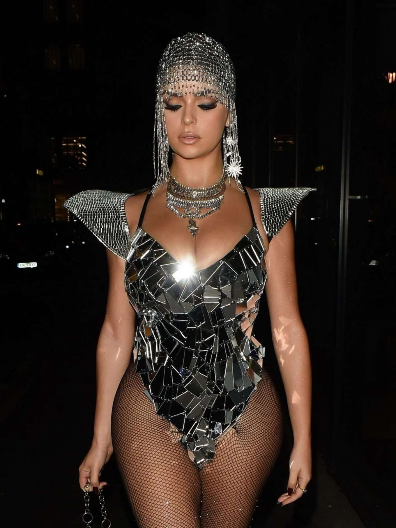 Demi Rose 2019 : Demi Rose – Heading to Halloween Party in Mayfair-09