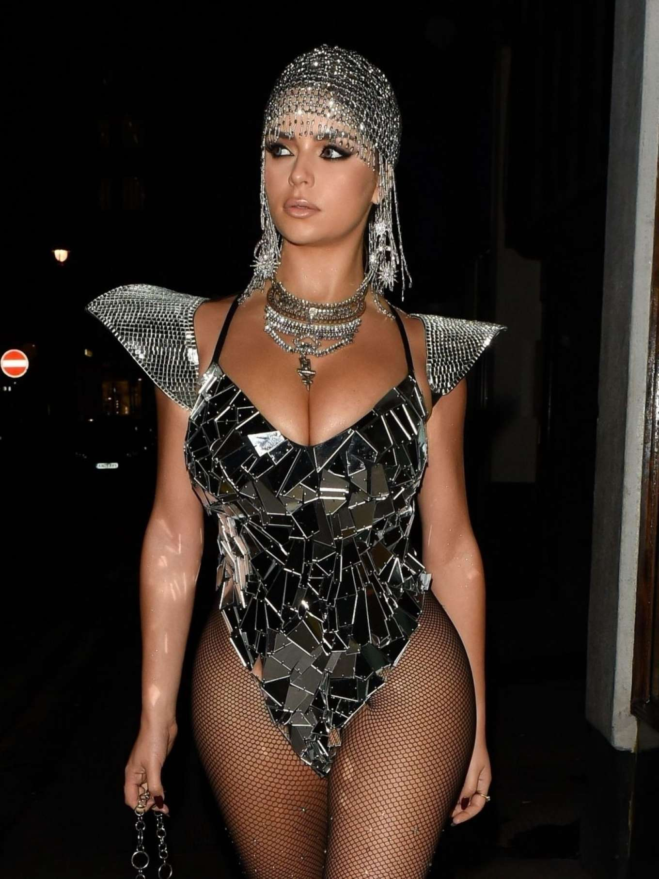 Demi Rose 2019 : Demi Rose – Heading to Halloween Party in Mayfair-10