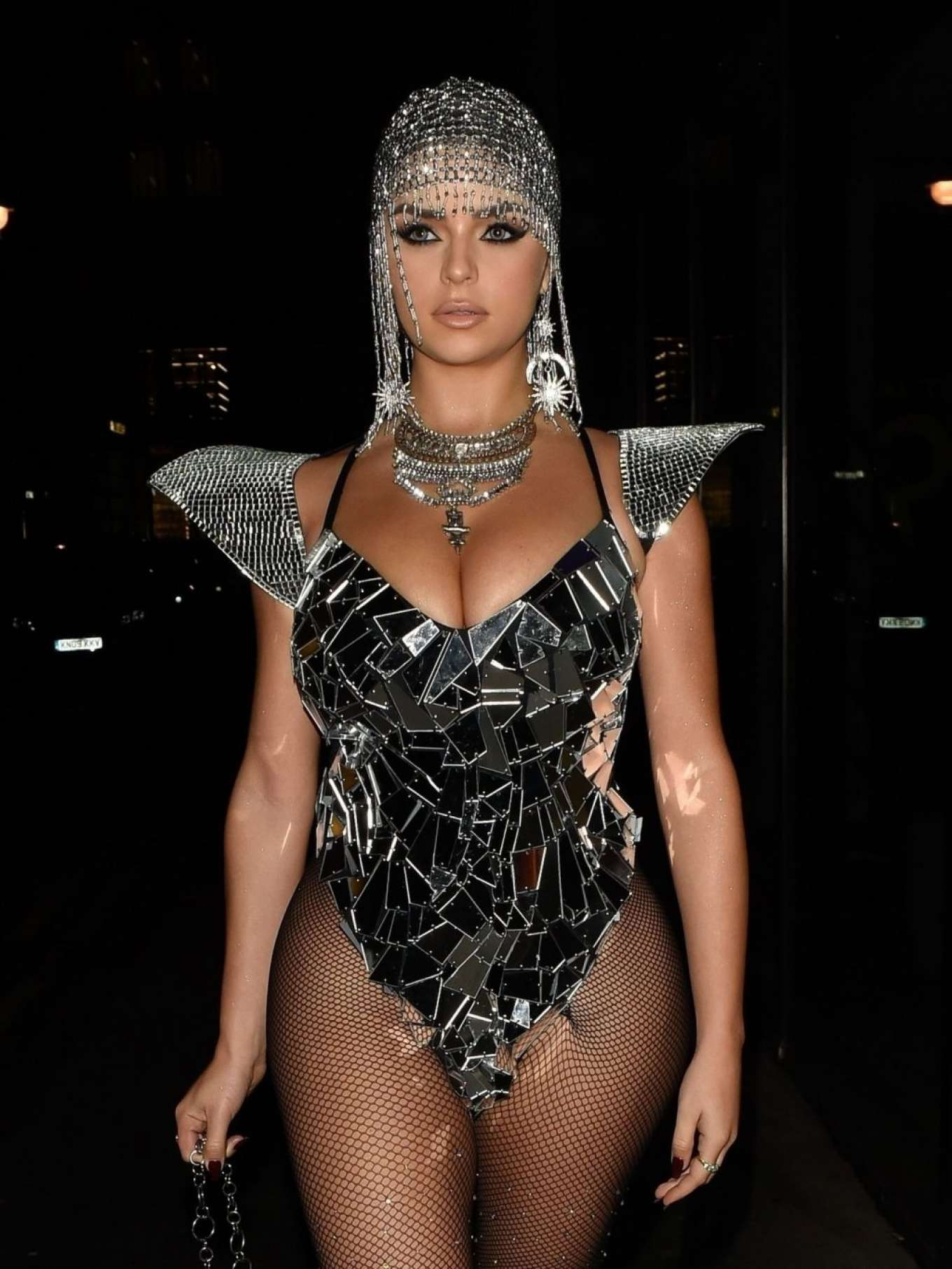 Demi Rose 2019 : Demi Rose – Heading to Halloween Party in Mayfair-11