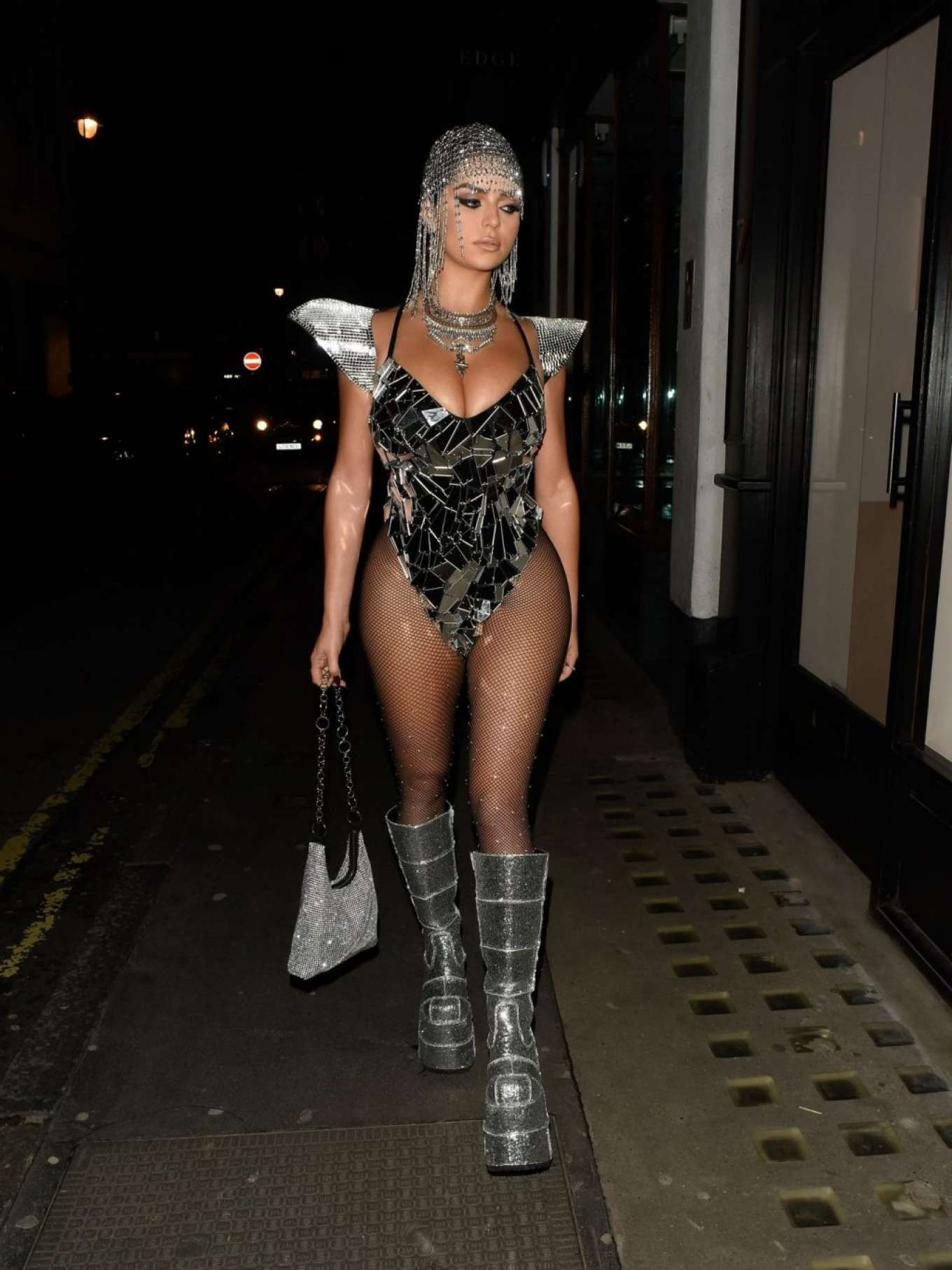 Demi Rose 2019 : Demi Rose – Heading to Halloween Party in Mayfair-12