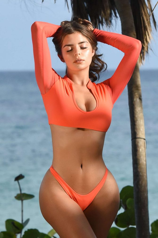 Demi Rose in Bikini – Photoshoot in Tulum