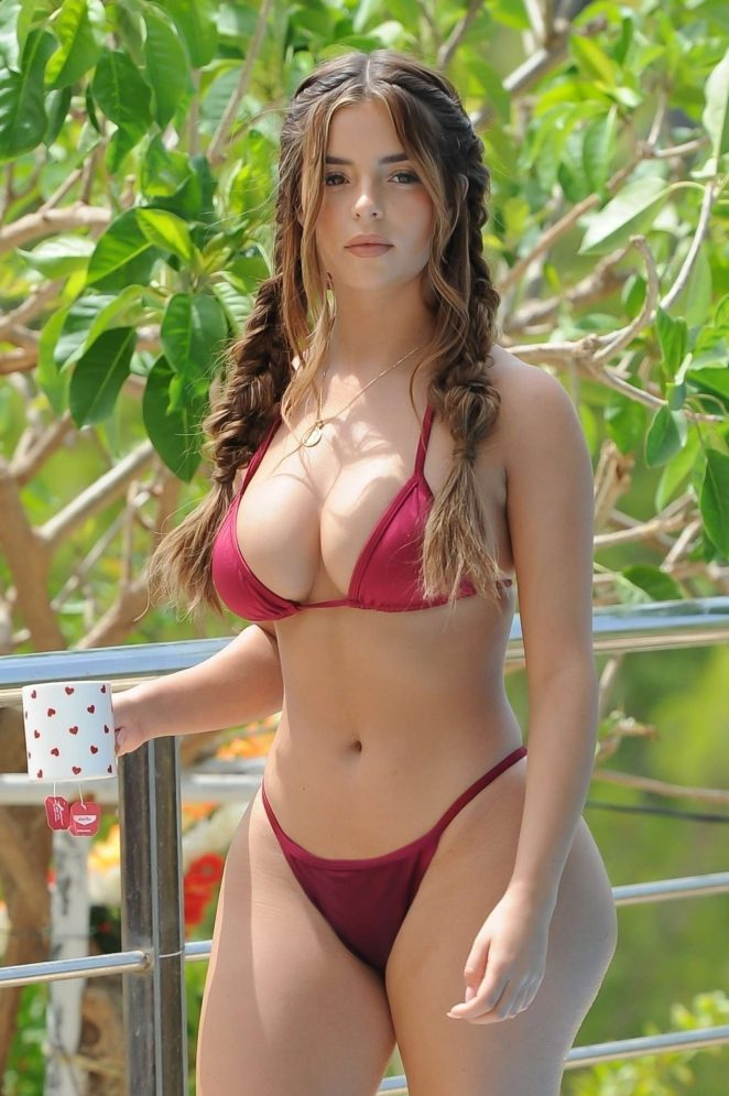 Demi Rose Bikini Nude Photos 49