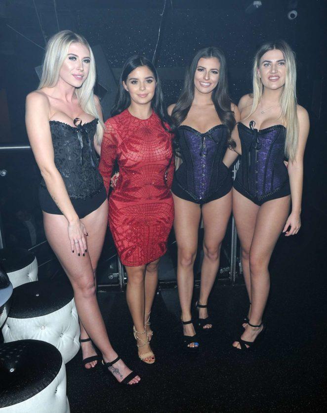 Demi Rose in Red Dress -24