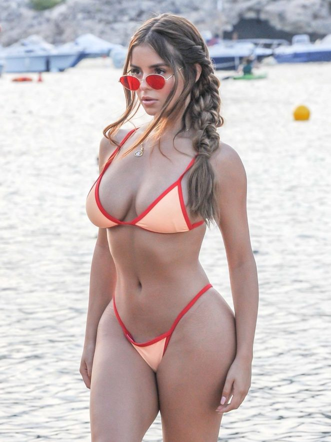 Demi Rose Bikini Nude Photos 42