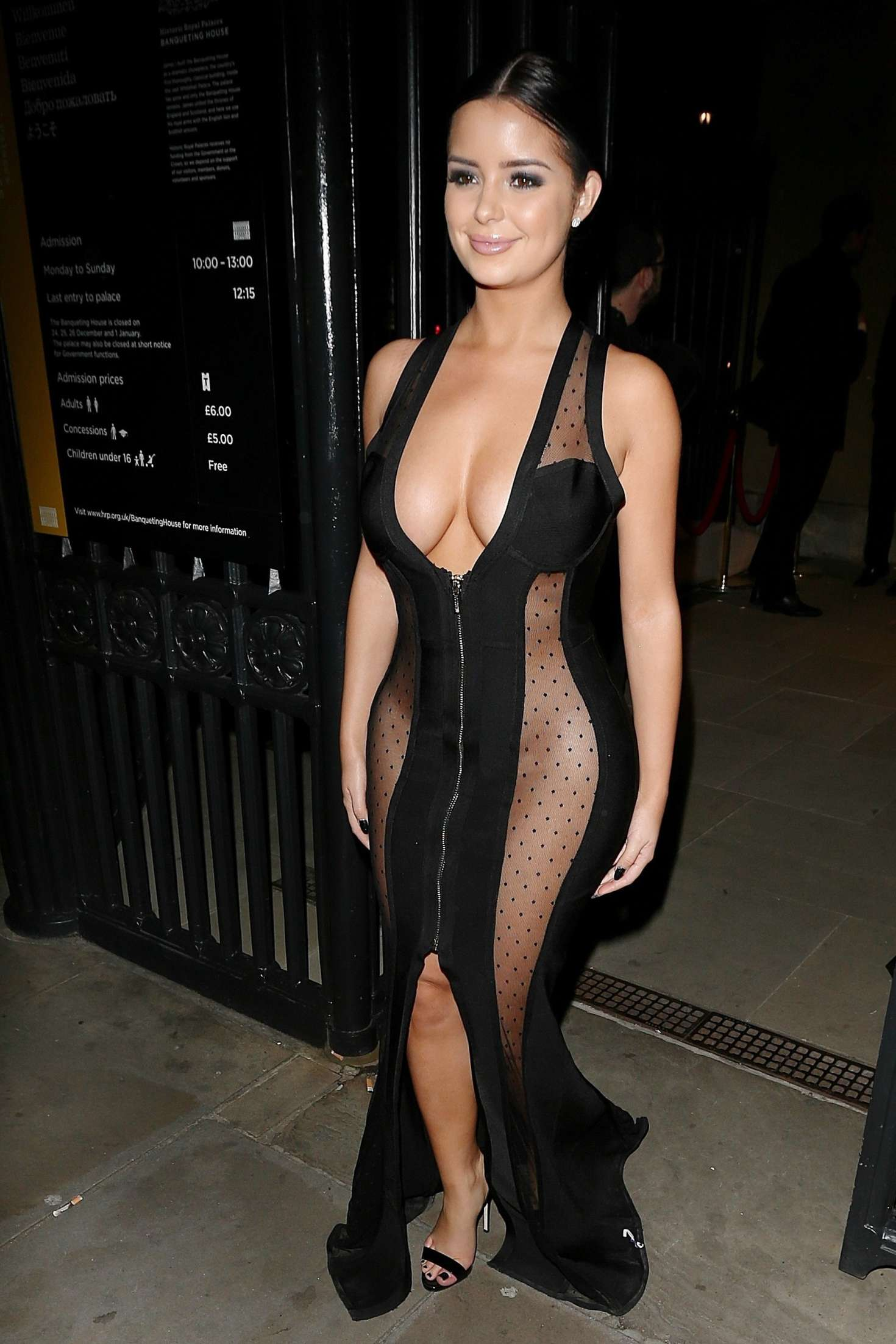 Demi Rose – Leaves Beauty Awards 2016 in London
