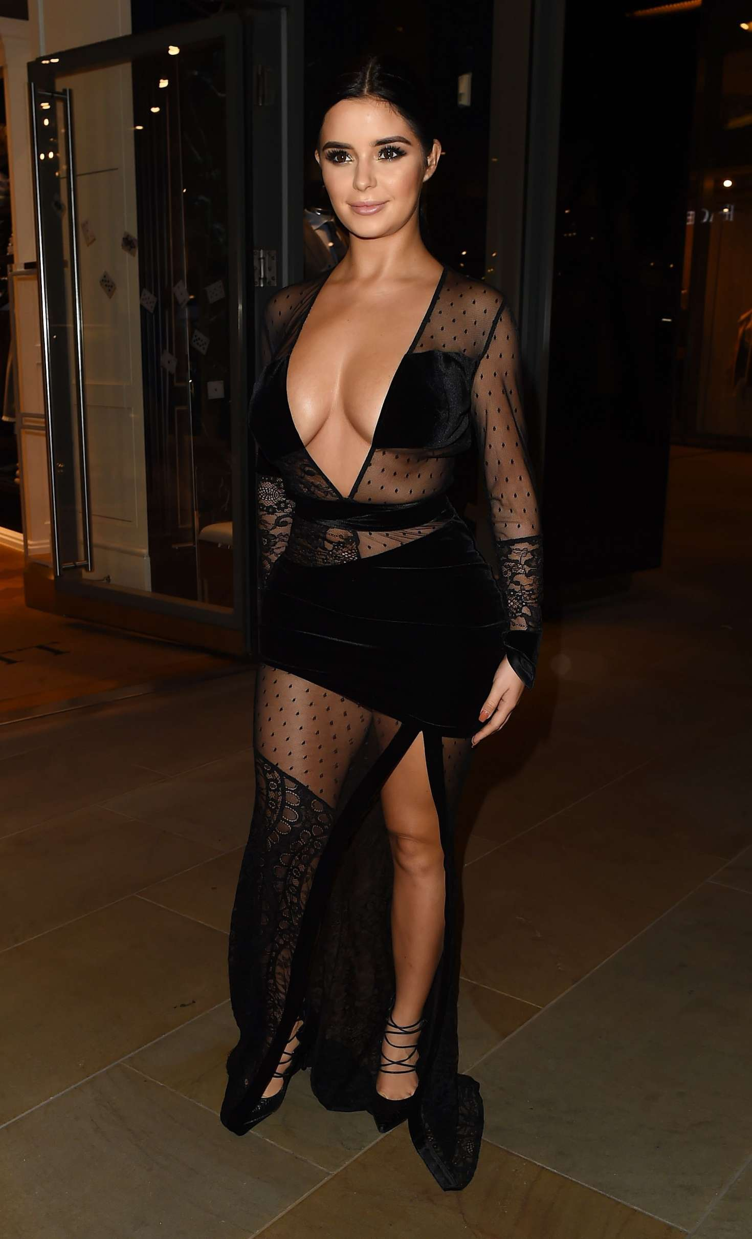 Demi Rose 2017 : Demi Rose: Madison Launch Party in London -02