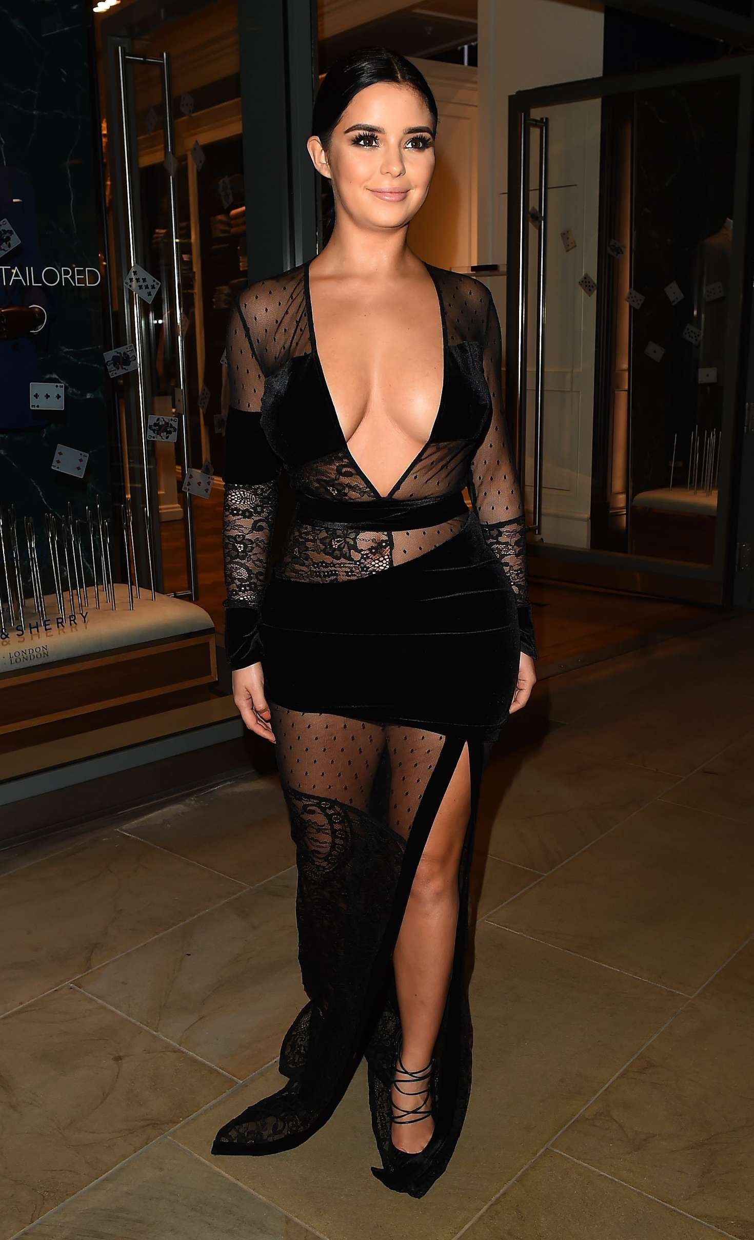 Demi Rose 2017 : Demi Rose: Madison Launch Party in London -03