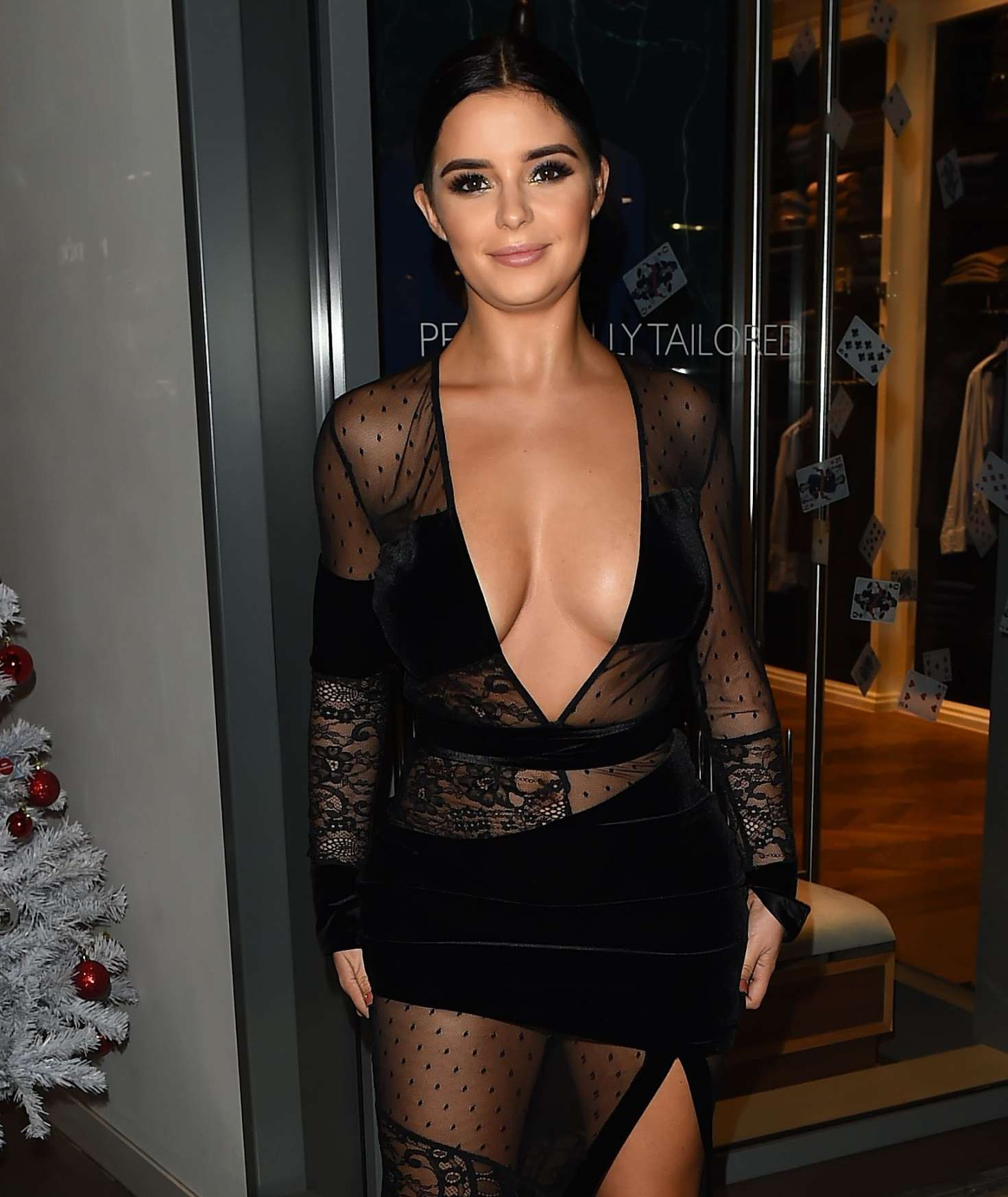 Demi Rose - Madison Launch Party in London   Indian Girls