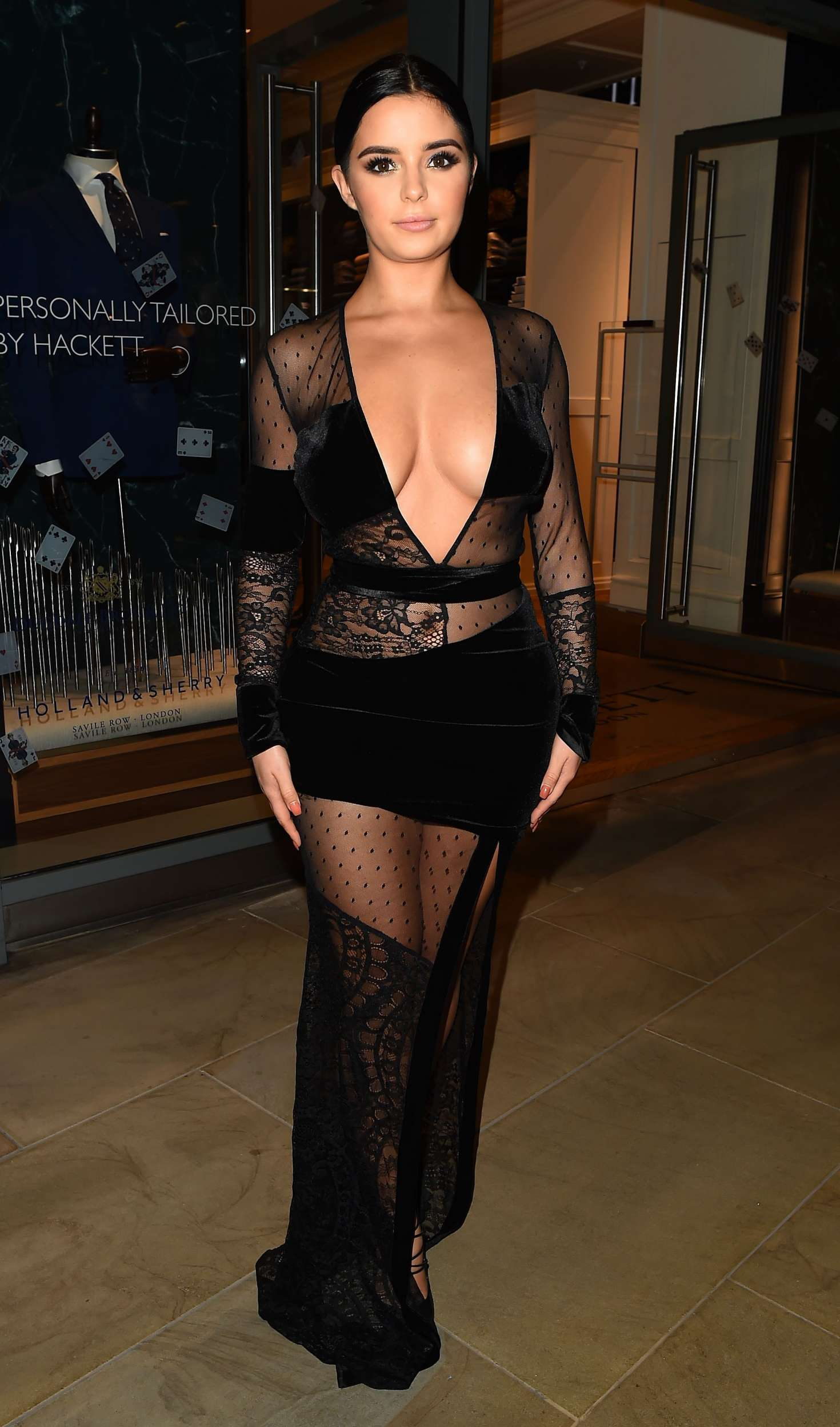 Demi Rose 2017 : Demi Rose: Madison Launch Party in London -06