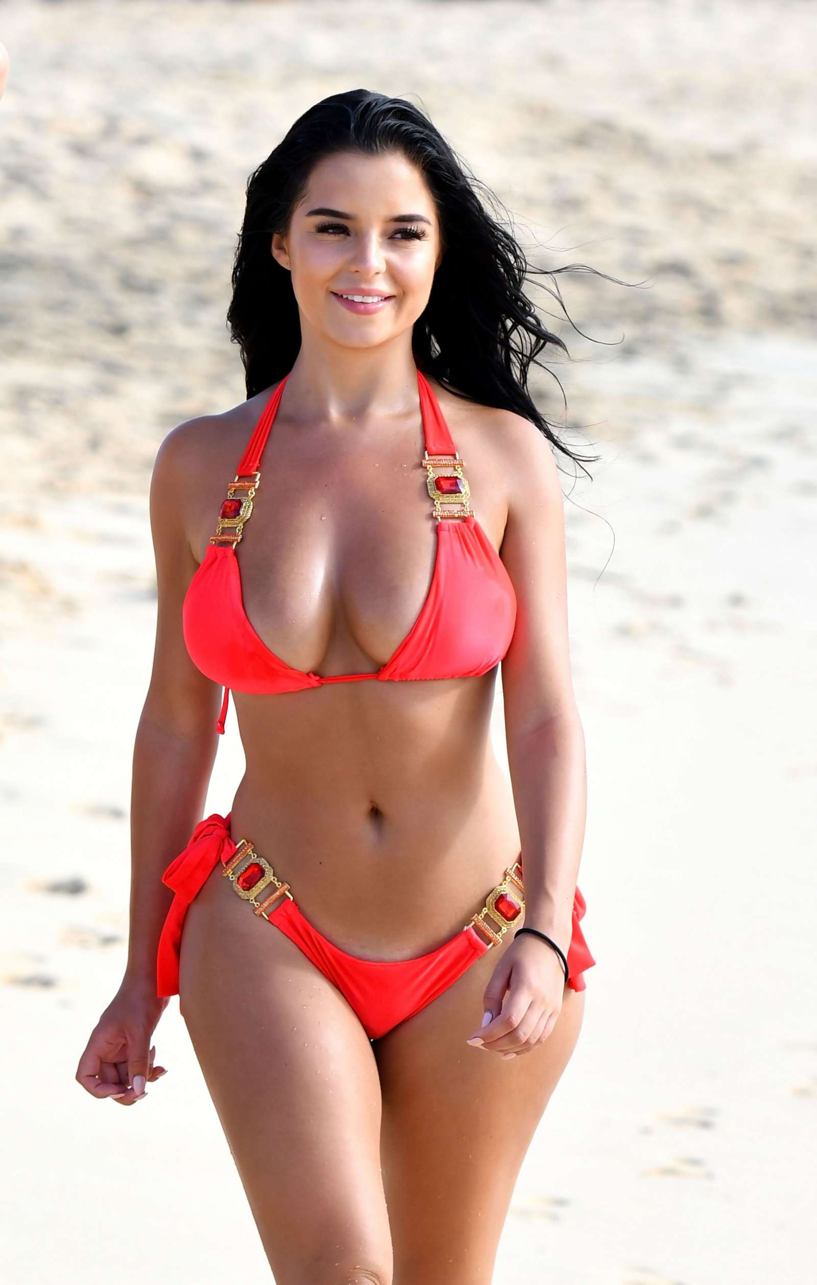 Demi Rose Mawby – Hot In Bikini at Bikini Beach Club