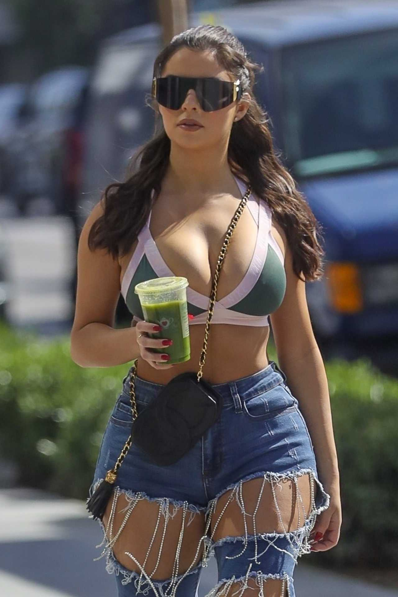 Demi Rose Mawby 2020 : Demi Rose Mawby – Shopping on Melrose Place in Los Angeles-04