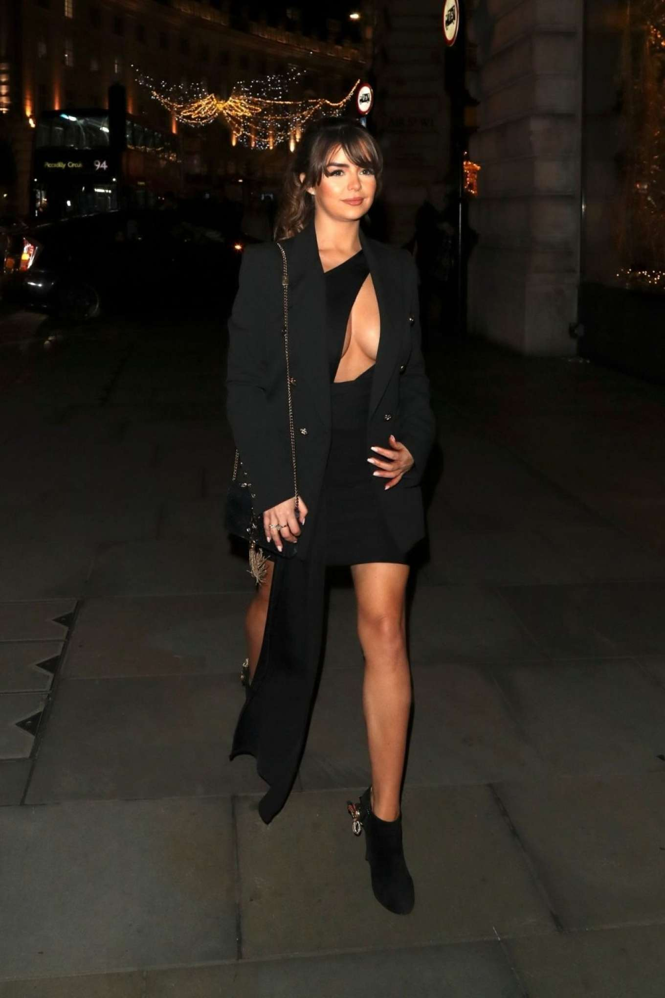 Demi Rose Mawby 2019 : Demi Rose Mawby was pictured while arriving at Cafe Royal in London-11