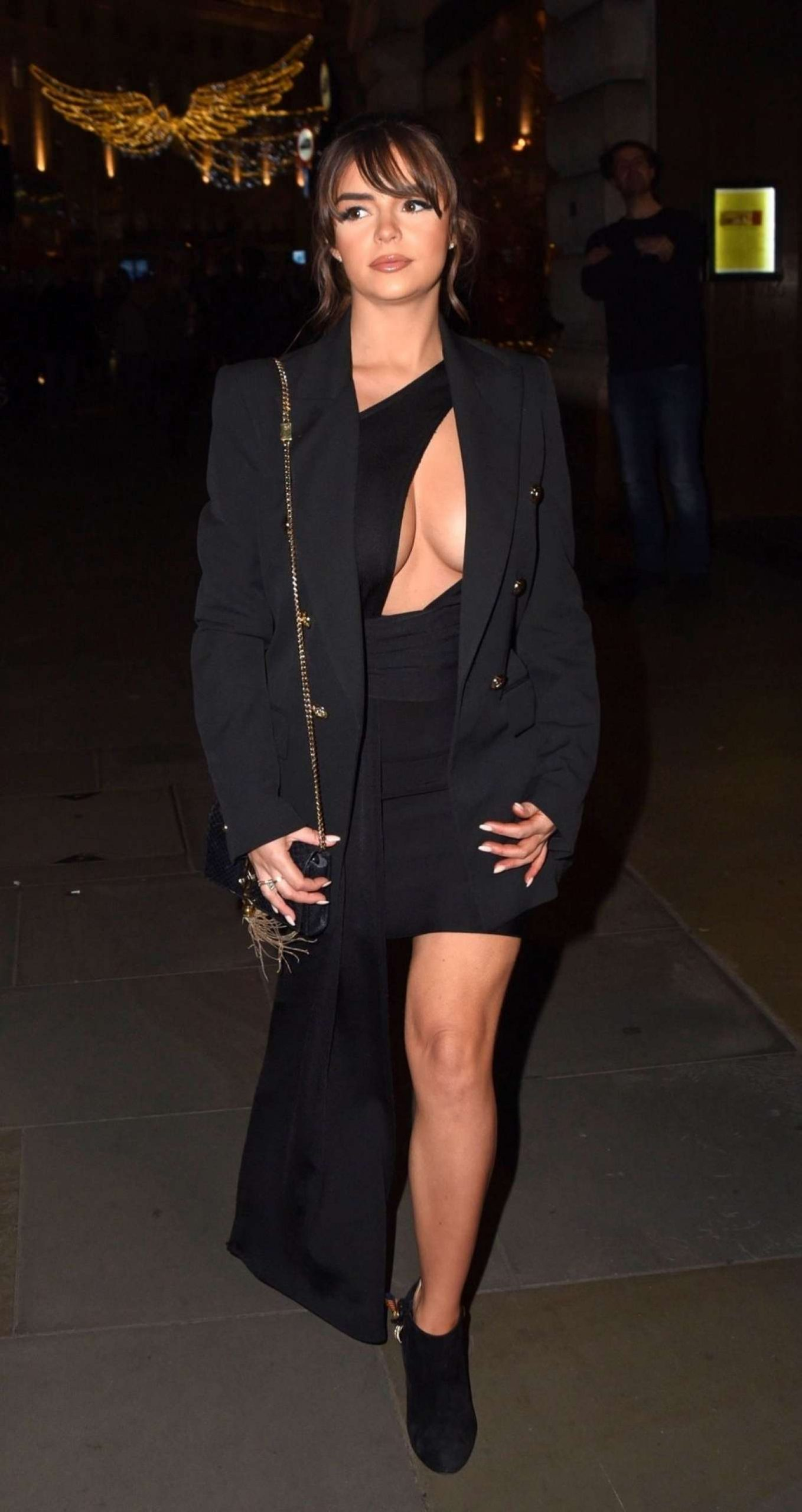 Demi Rose Mawby 2019 : Demi Rose Mawby was pictured while arriving at Cafe Royal in London-13