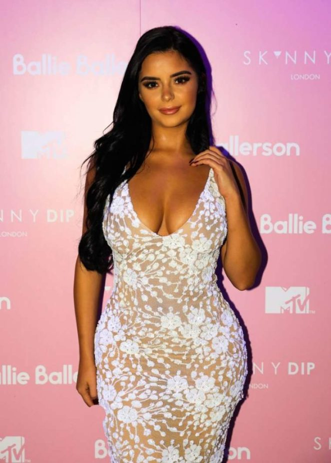 Demi Rose - MTV x Skinny Dip Launch Party in London