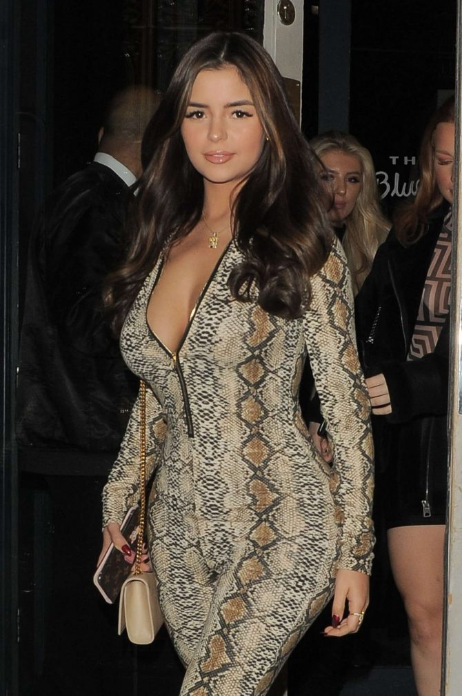 Demi Rose – Night out in London