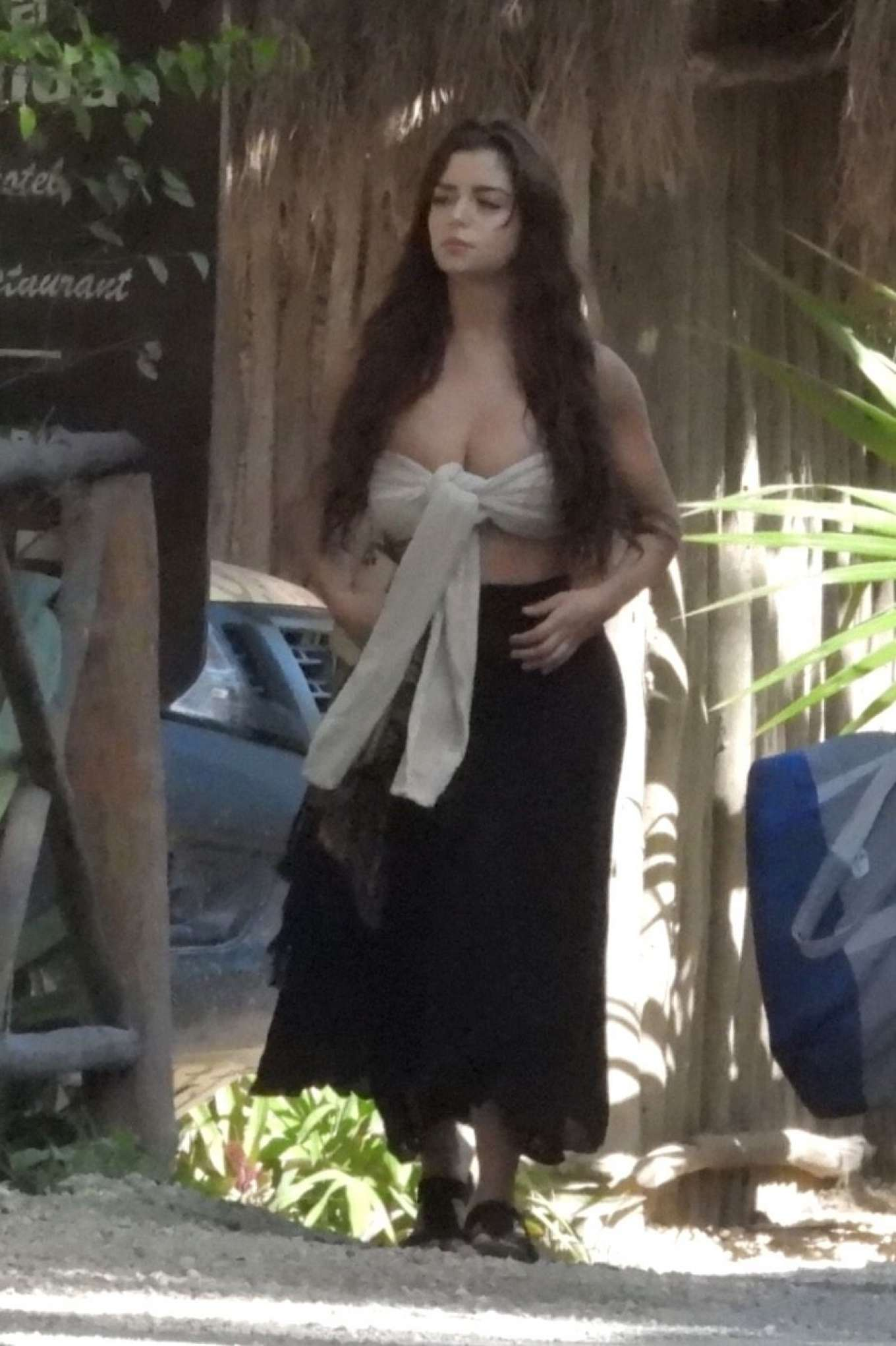 Demi Rose - Out in Tulum
