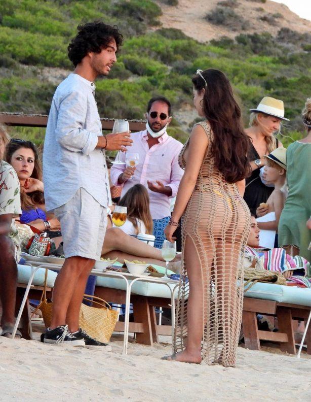 Demi Rose - Pictured at Experimental Beach in Formentera - Spain