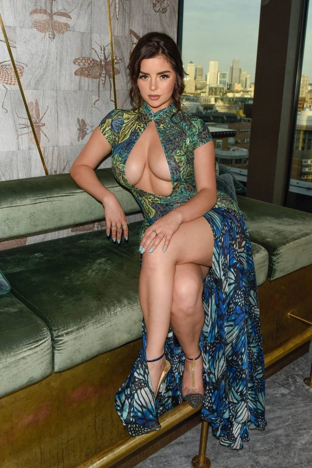 Demi Rose - Pictured at the HLD summer brunch at Jin Bo Law in London