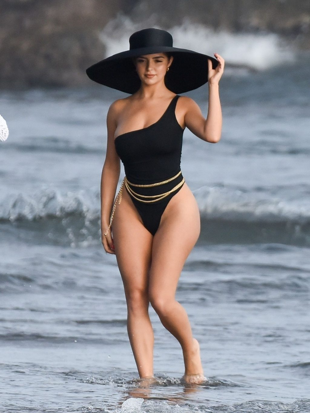 Demi Rose 2019 : Demi Rose – Spotted on the beach during a photoshoot in Bali Indonesia-13