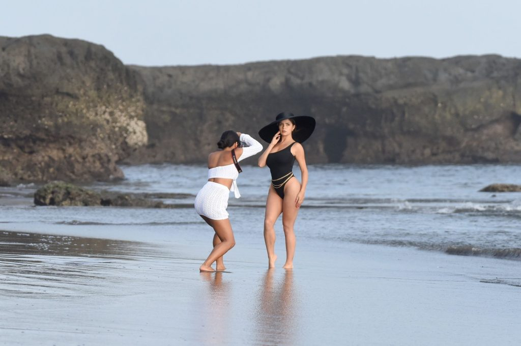 Demi Rose 2019 : Demi Rose – Spotted on the beach during a photoshoot in Bali Indonesia-15