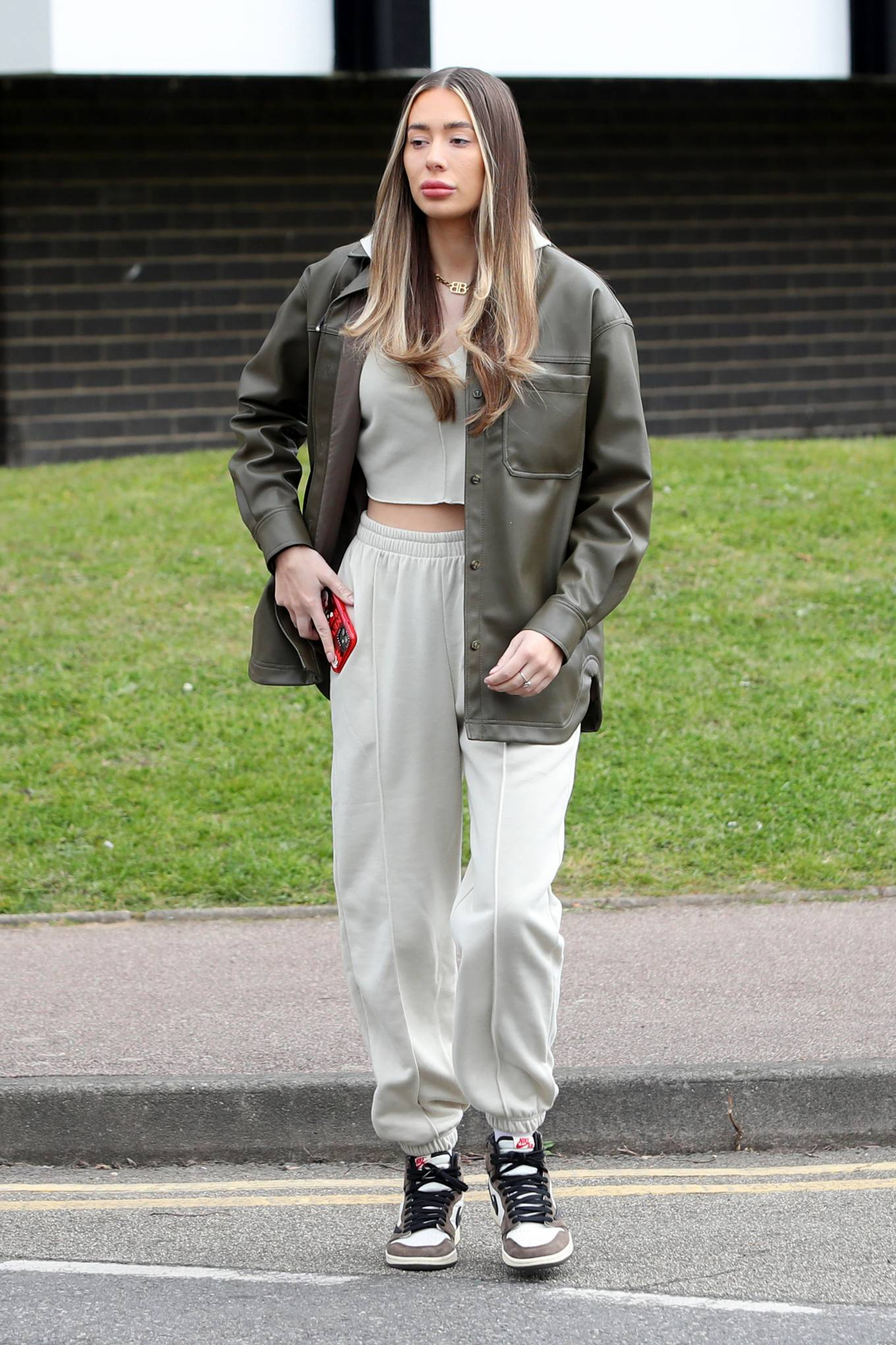 Demi Sims 2021 : Demi Sims – The Only Way is Essex TV Show filming in Essex-01