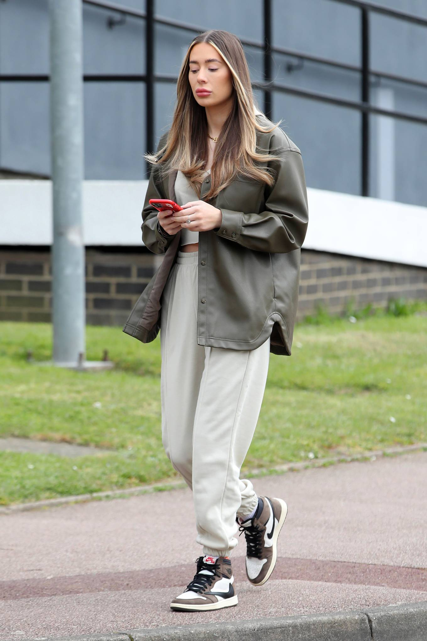 Demi Sims - The Only Way is Essex TV Show filming in Essex