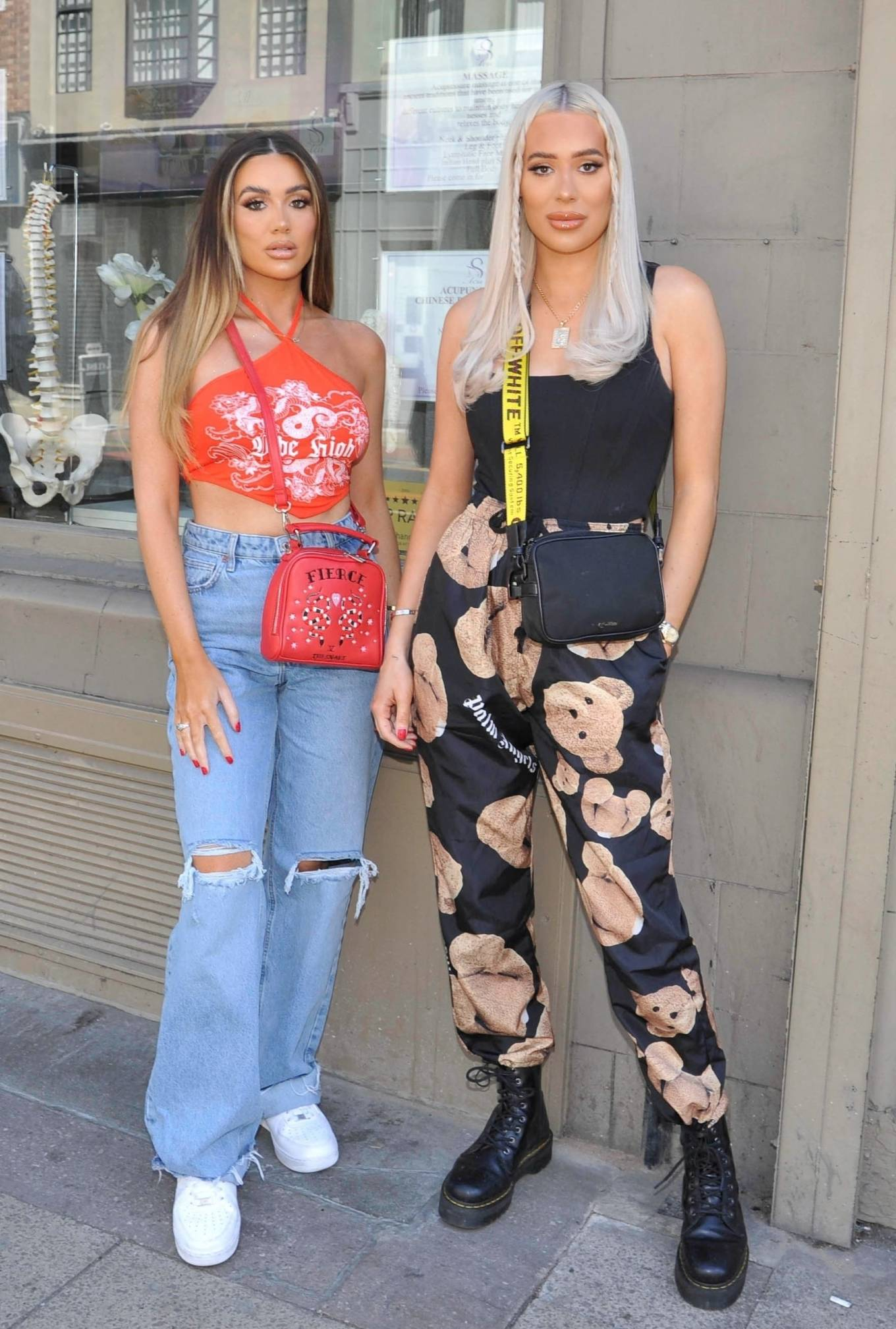 Demi Sims 2021 : Demi Sims – With Frankie out at Boujee bar an restaraunt in Manchester-06