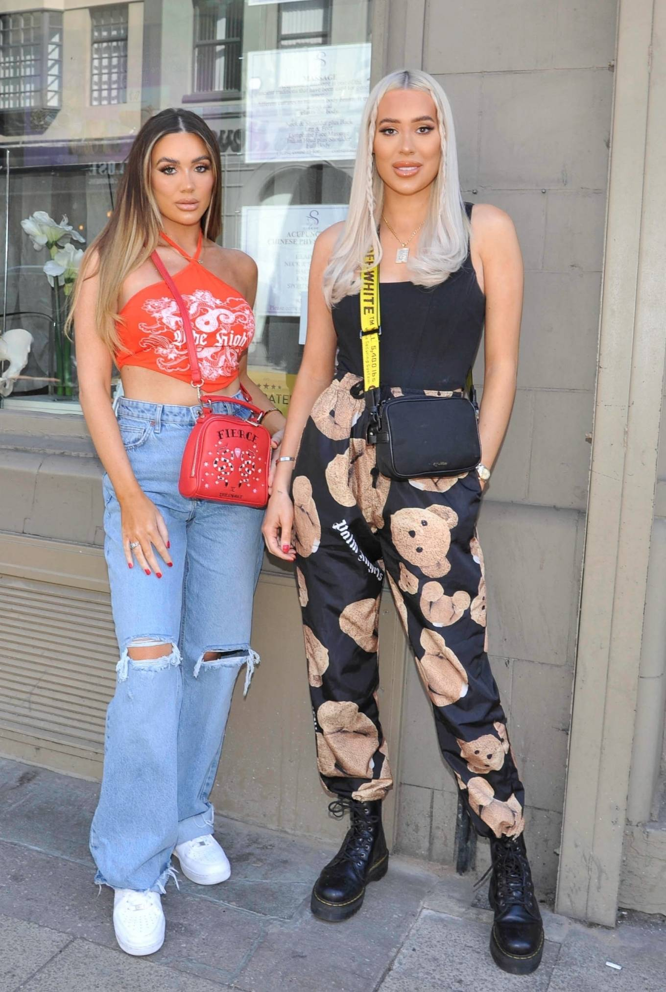 Demi Sims 2021 : Demi Sims – With Frankie out at Boujee bar an restaraunt in Manchester-08