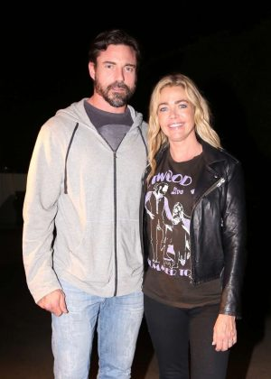Denise Richards and Aaron Phypers at Giorgio Baldi in Santa Monica