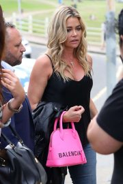 Denise Richards - Arrives at the Icebergs Restaurant in Bondi