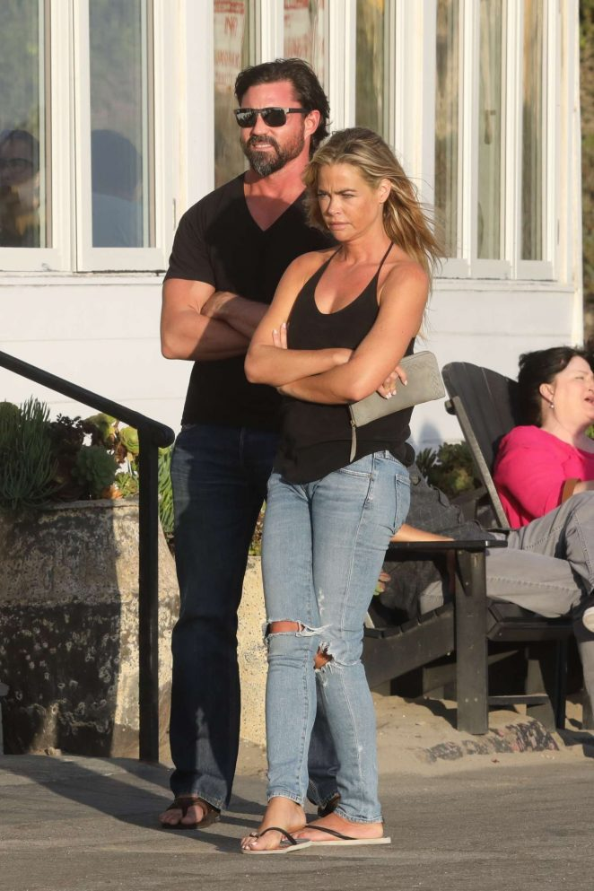 Denise Richards – Filming 'Real Housewives of Beverly Hills' in Malibu