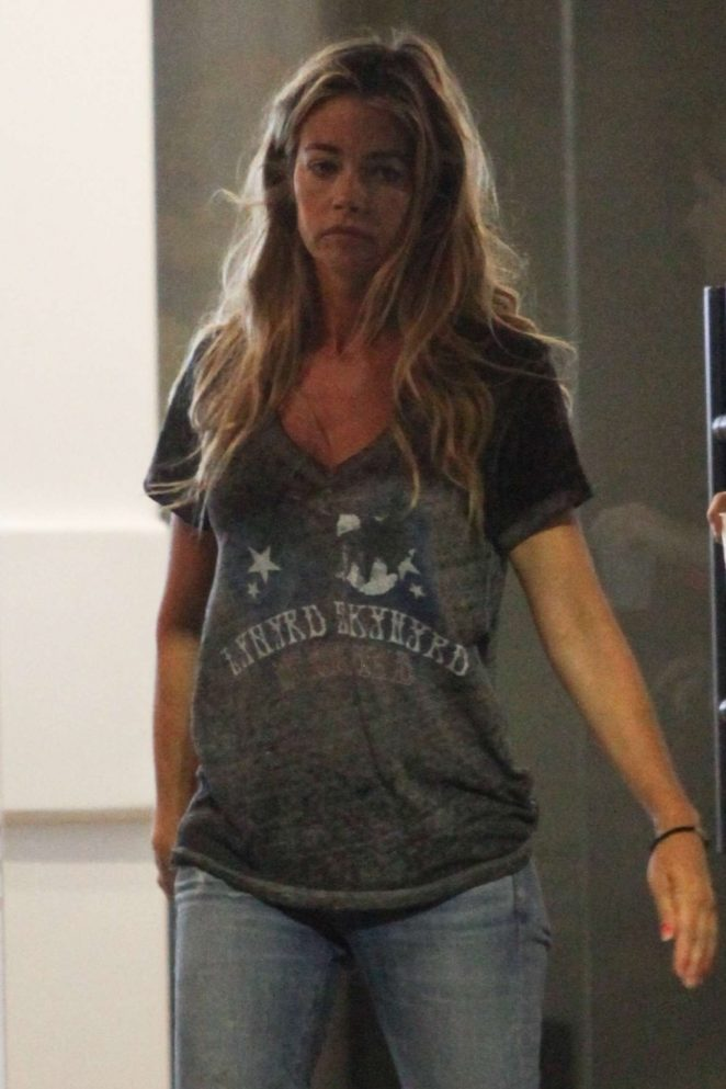 Denise Richards out in Los Angeles