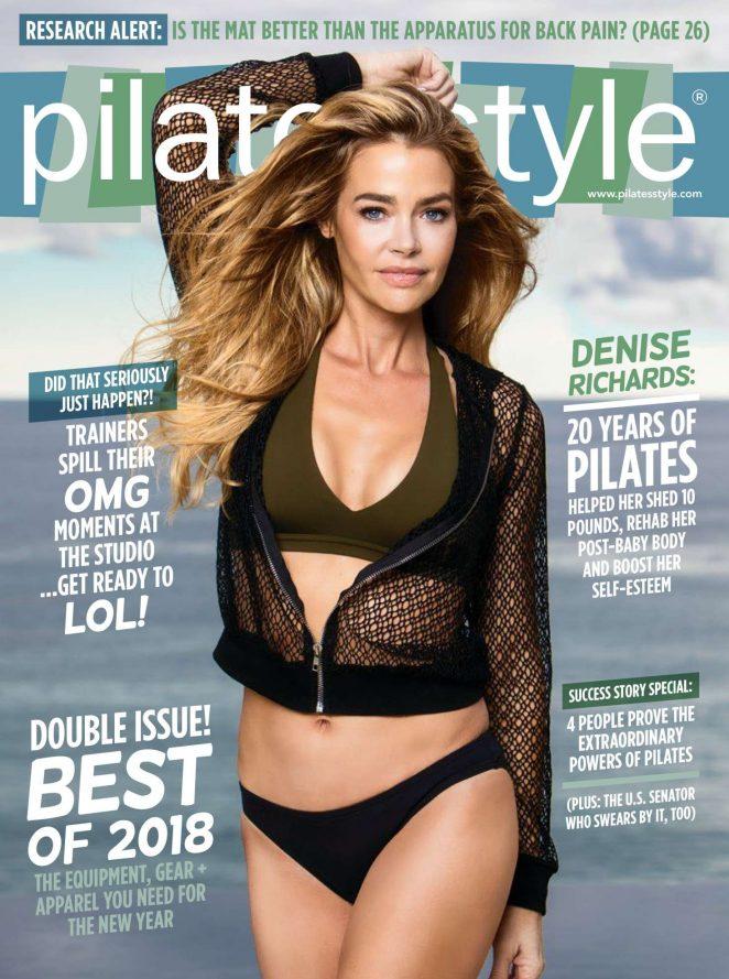 Denise Richards - Pilates Style Magazine (January/February 2018)
