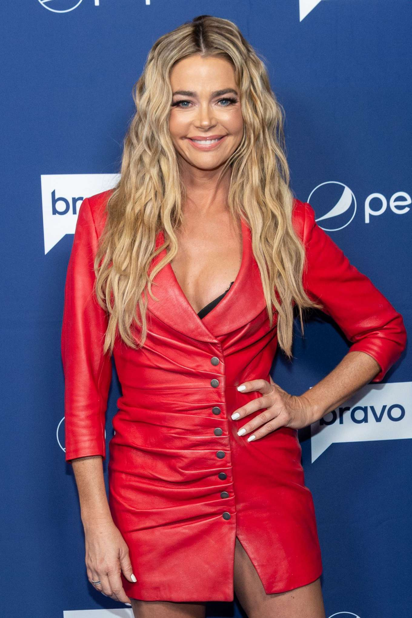 Denise Richards - Watch What Happens Live with Andy Cohen TV show in New York