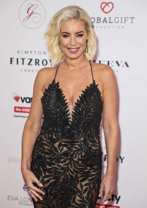 Denise Van Outen - 2019 Global Gift Gala at Kimpton Fitzroy in London