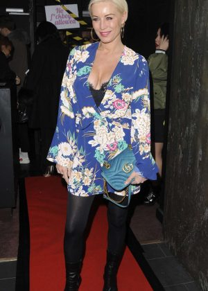 Denise Van Outen - Arrives at In The Style Valentines Party in London