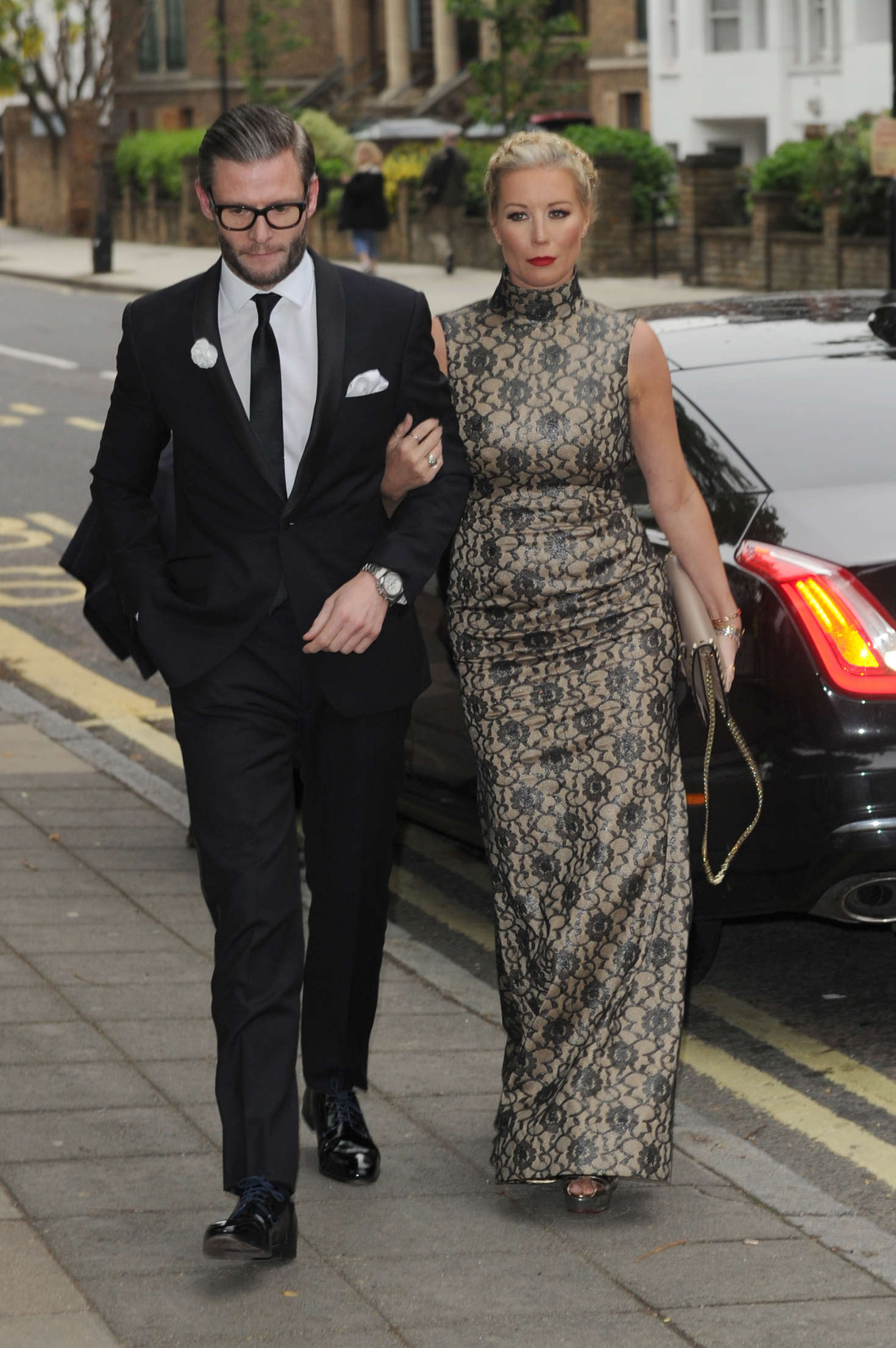 Denise Van Outen at Hope and Homes For Children: End The Silence Gala Dinner in London