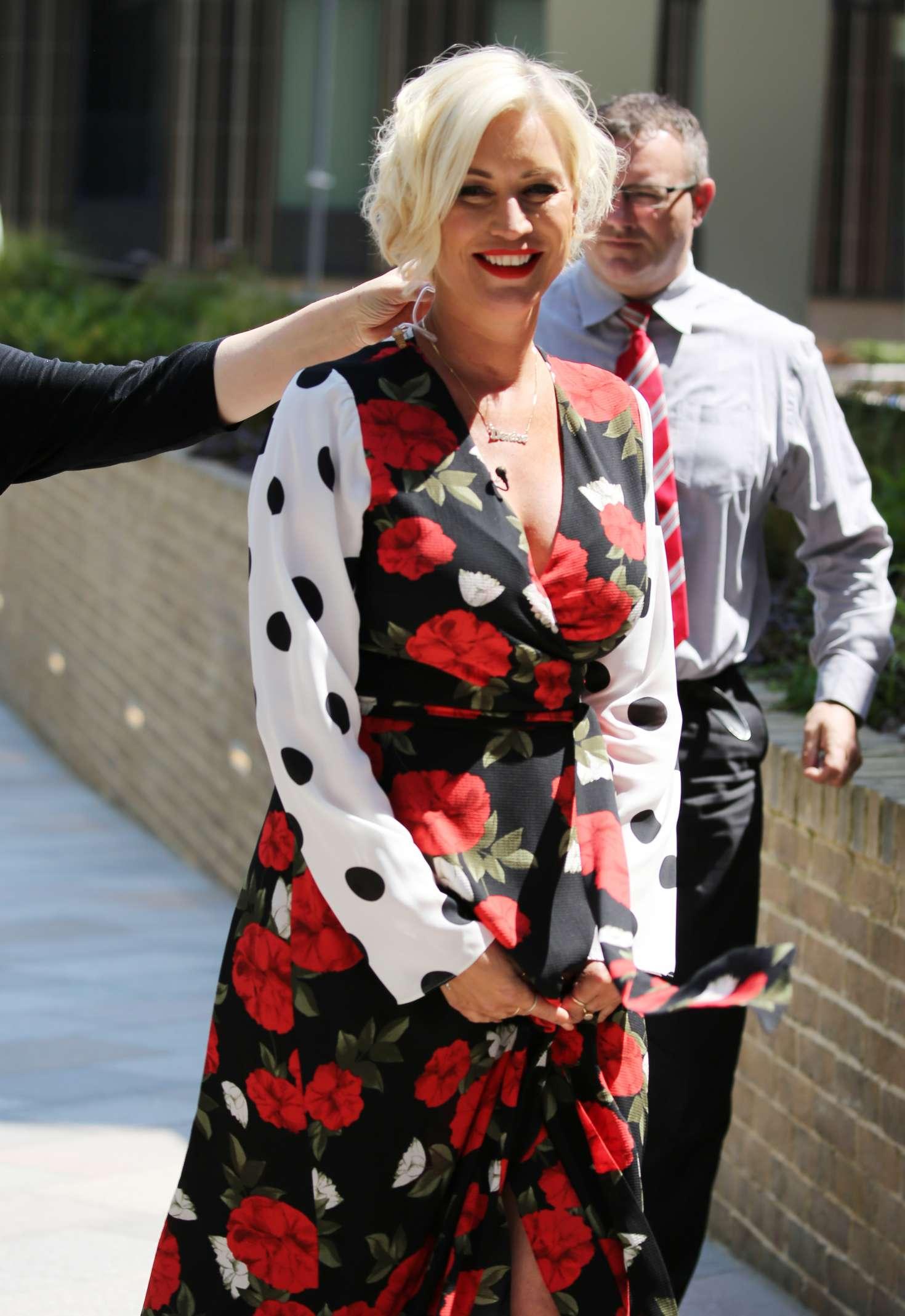 Denise Van Outen at ITV Studios in London